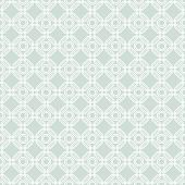 image of octagon  - Geometric fine abstract vector light blue background with white octagons - JPG