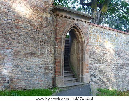 Door In A Wall On