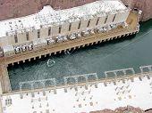 Facilities At Foot Of Hoover Dam