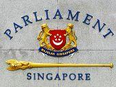 Singapore Parliament emblem