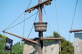 Crow'S Nest On A Pirate Ship