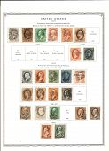 Portraits Of United States Presidents On Stamps