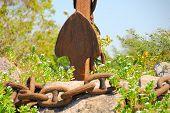 Rusty Anchor Chain