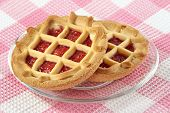 Tartlet With Cherry Jam
