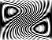 Editable vector illustration of a black stripe pattern