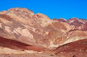 Artists Palette In Death Valley, California