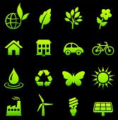 Original vector illustration: environment elements icon set