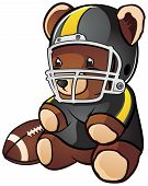 Football Teddy Bear