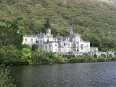 Irish Castle On A Lake