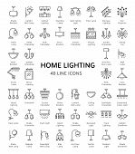 Different Kinds Of Wall, Ceiling, Table And Floor Lamps. Home Lighting. Modern Light Fixtures. Chand poster
