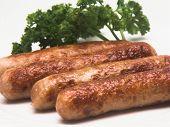 Link Sausages Up Close