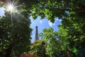 Eiffel Tower - Metal Tower In Central Paris, His Most Recognizable Architectural Feature. Named In H poster