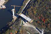 New Highway Bridge Construction