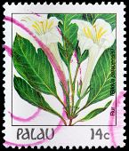 A 14-cent Stamp Printed In Palau