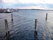 picture of burlington  - Harbor on Lake Champlain in Burlington VT - JPG