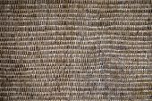 Abstract Decorative Wooden Textured Basket Weaving. Basket Texture Background, Close Up poster