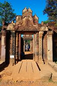 Entrance Gopura Of Banteay Sreiz, Cambodia