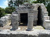 Mayan Ruins Observatory at Cozumel, Mexico