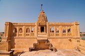 O templo Jain de amar Sagar