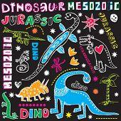 doodle dinosaurs