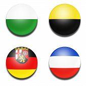 Civil flag balls of Germany state