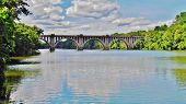 Rappahannock River Train Bridge
