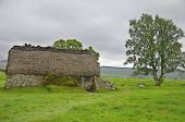 Culloden battle field english commandment house