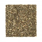 Southernwood herb leaf used in herbal medicine to treat pre menstrual tension and cramps, urinary di poster