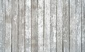 Gray And White Old Wood Plank Texture Background. Top View Of Weathered Wooden Table. Vintage Wood A poster