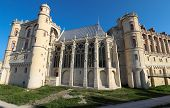 Saint-germain-en-laye Castle Located Around 13 Miles West Of Paris. It Was Fortified Hunting-lodge.  poster