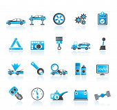 car services and transportation icons