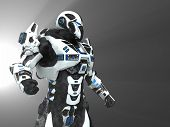 picture of trooper  - 3d render of a advanced super soldier - JPG