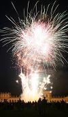 Firework At The Orangerie Castle In Kassel