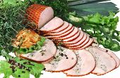 Ham With Green
