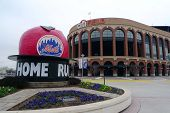 Citi Field, Heimat der Major League Baseball-Teams der New York Mets in Flushing, NY