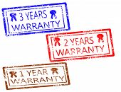 Warranty Stamps Set