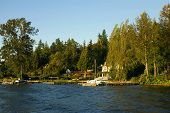 Waterfront home auf Lake washington