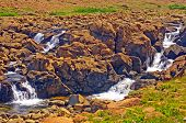 Rushing Waters In A Desert Valley