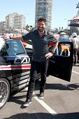 LOS ANGELES - APR 9:  Maksim Chmerkovskiy at the Toyota ProCeleb Race Press Day 2013 at the Toyoto G