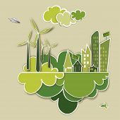 Go Green Concept City