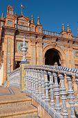 Stairs, Plaza De Espana