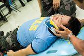 Paramédico entrenamiento