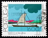 Postage Stamp Portugal 1981 Barco, Lima River