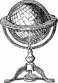 Vintage Globe.eps