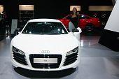 Audi R8 In Auto Show