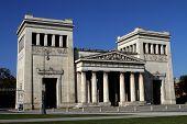 Propylaen Monument In Munich, Germany