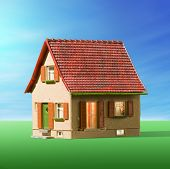 image of dream home  - house model - JPG