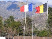 Cloudy Mountain Flags