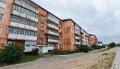 Soviet Style Apartment Block