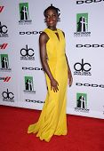 LOS ANGELES - OCT 21:  Lupita Nyong'o arrives to Hollywood Film Awards Gala 2013  on October 21, 2013 in Beverly Hills, CA